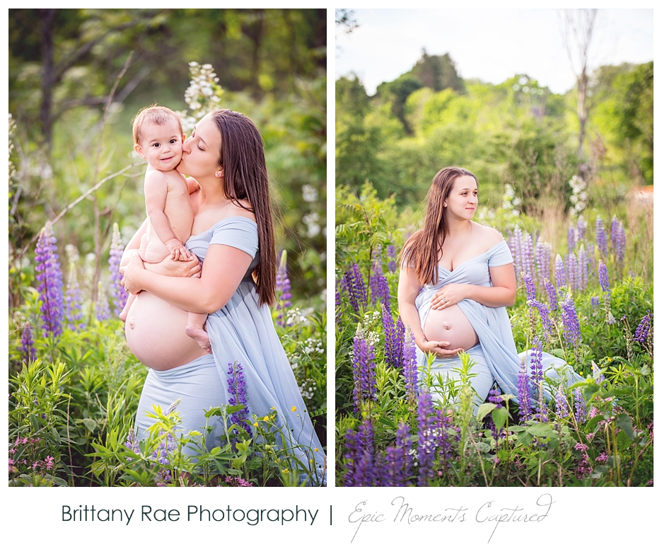 Portland Maine Maternity Photography - mom and baby maternity session