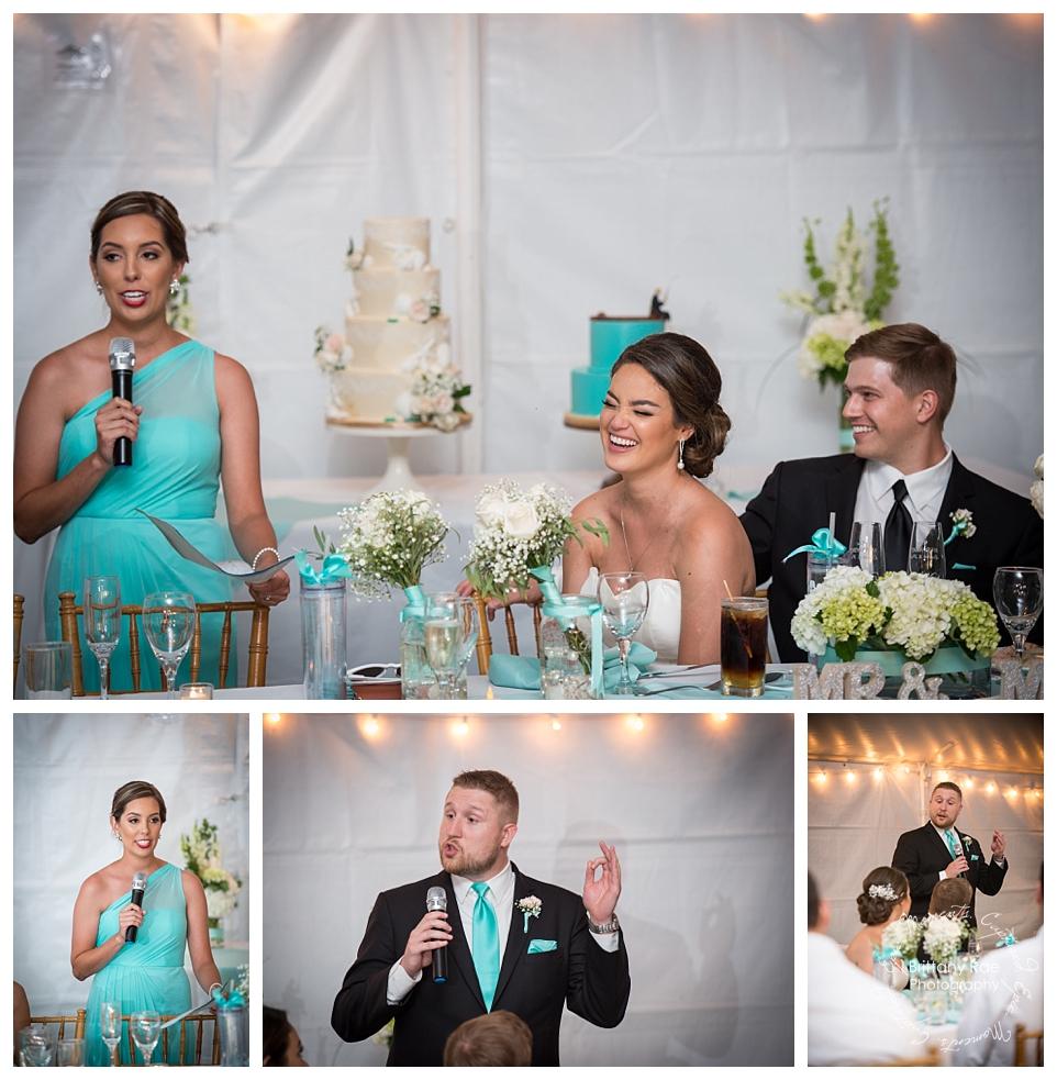 Ocean Park Maine Destination Wedding, Cape Elizabeth - Teal wedding