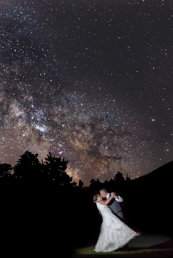 Night Sky Photography - Sugarloaf Wedding