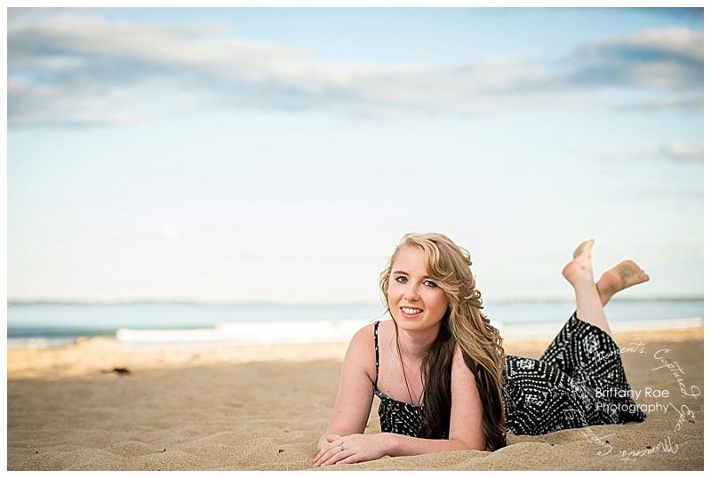 Old Orchard Beach Senior Portraits -