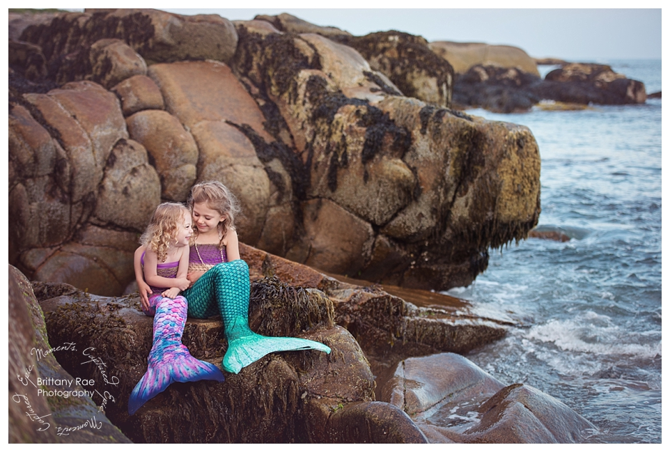 Mermaid Portraits by Maine Fantasy Photographer - Mermaid Sisters