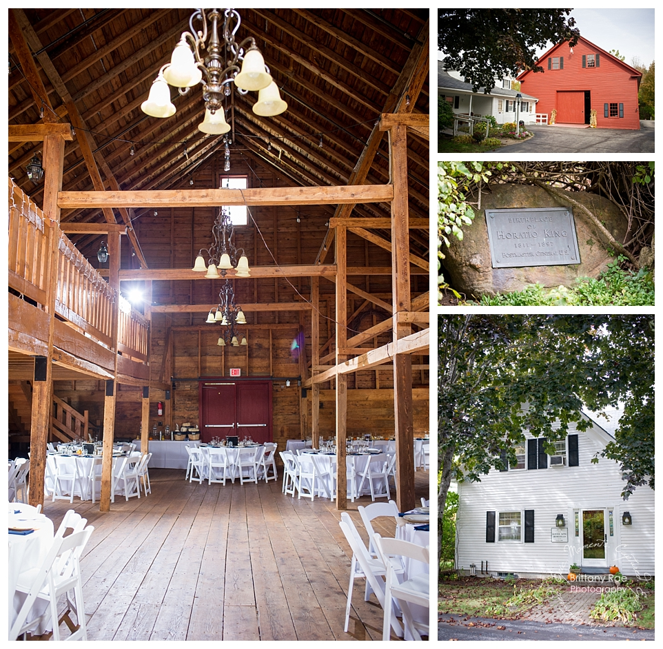 King's Hill Inn and Barn - Maine Barn Wedding by Maine Wedding Photographers - Maine Barn Wedding