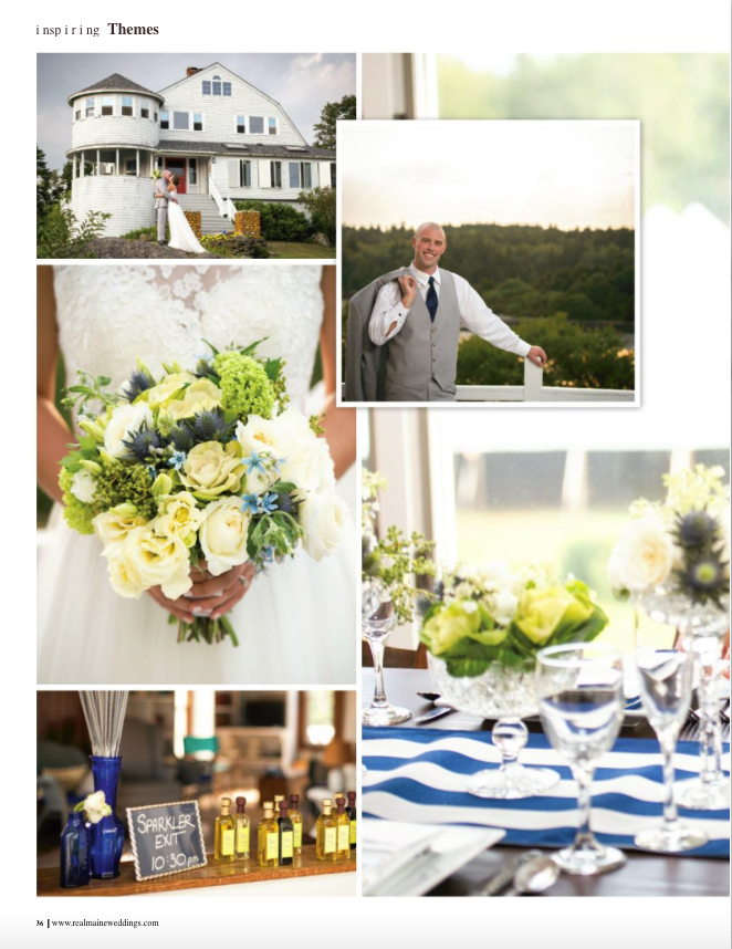 Real Maine Weddings Magazine Published Maine Wedding Photographer - 4
