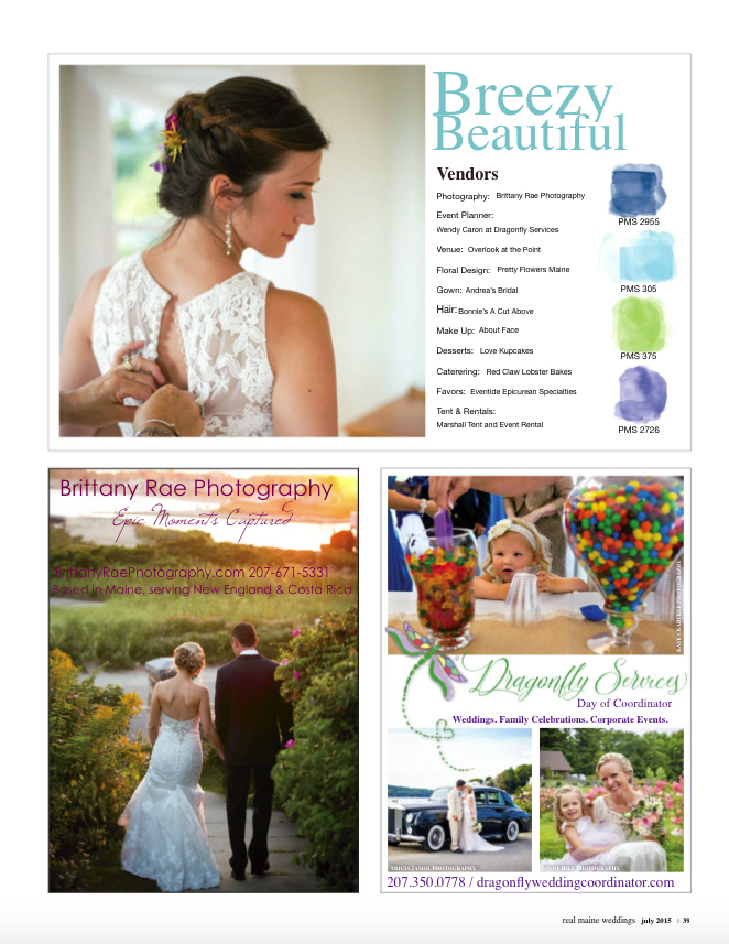Real Maine Weddings Magazine Published Maine Wedding Photographer - 6