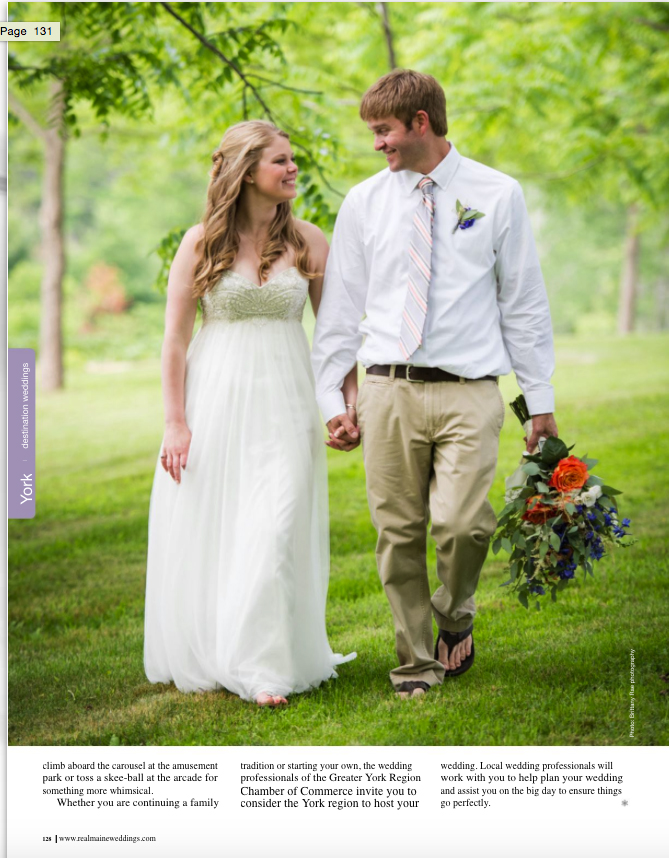 Real Maine Weddings Magazine Published Maine Wedding Photographer - 9