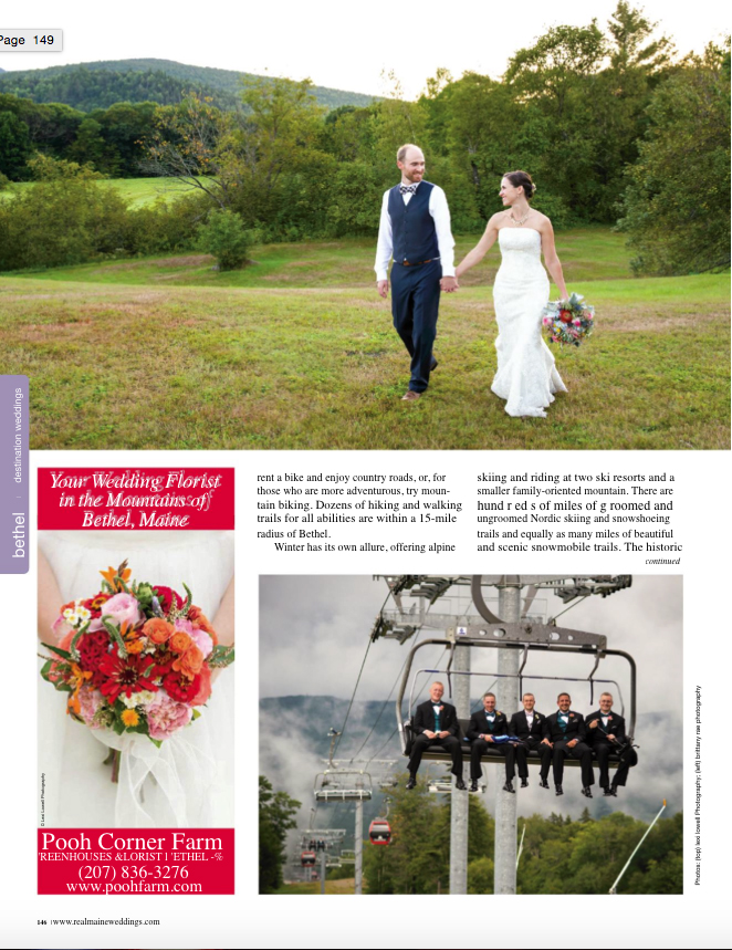 Real Maine Weddings Magazine Published Maine Wedding Photographer - 10