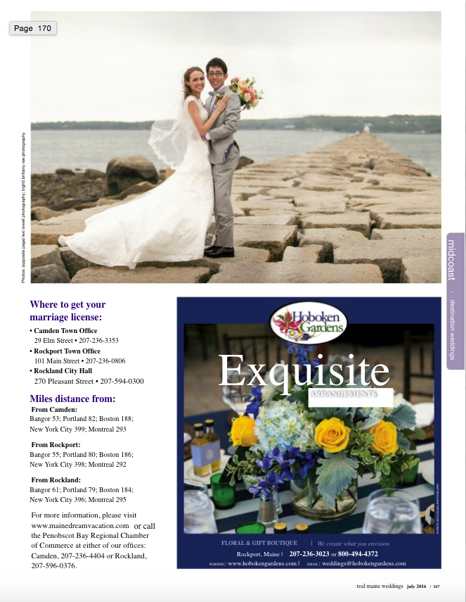 Real Maine Weddings Magazine Published Maine Wedding Photographer - 12