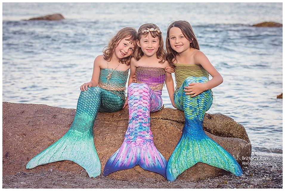 Mermaid Portraits - Maine Fantasy Photography -
