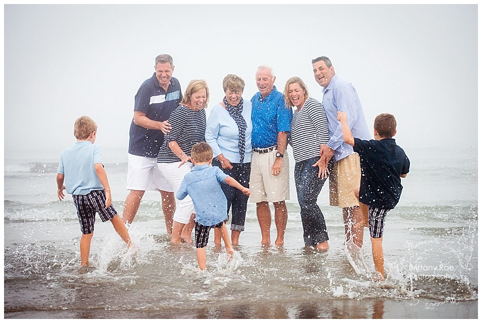 Drakes Island Wells Maine Family Portraits -