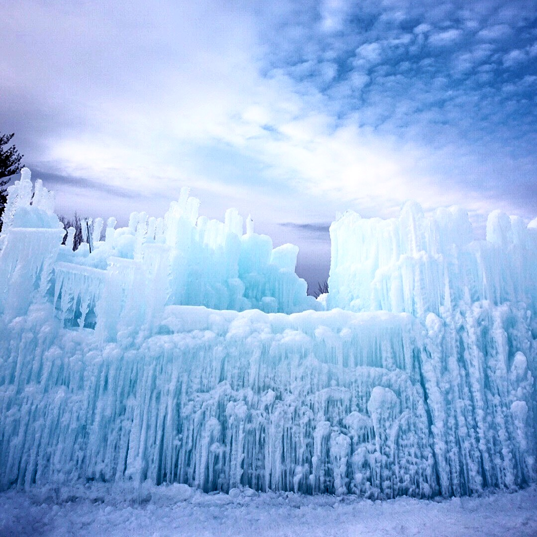 Best Wedding Photographers 2016 - Maine Wedding Photographers - Ice Castles New Hampshire