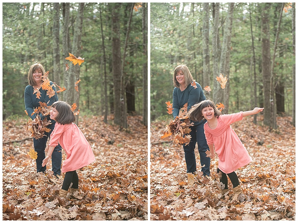 Fall Family Portraits in Scarborough Maine by Maine Family Portrait Photographers -