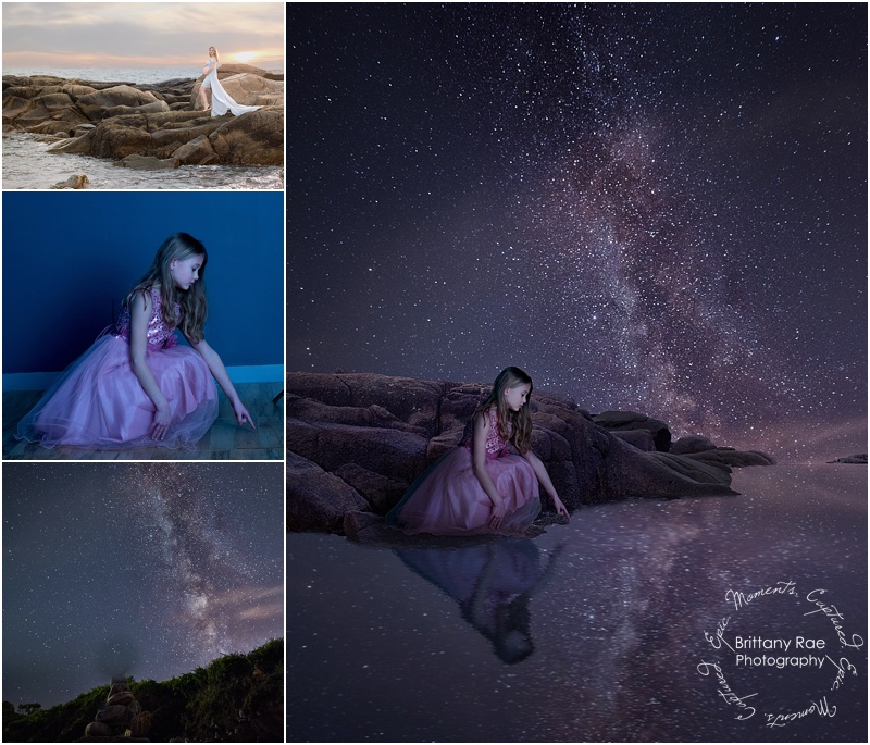Maine Fine Art Fantasy Photographer, Milky Way Fantasy -