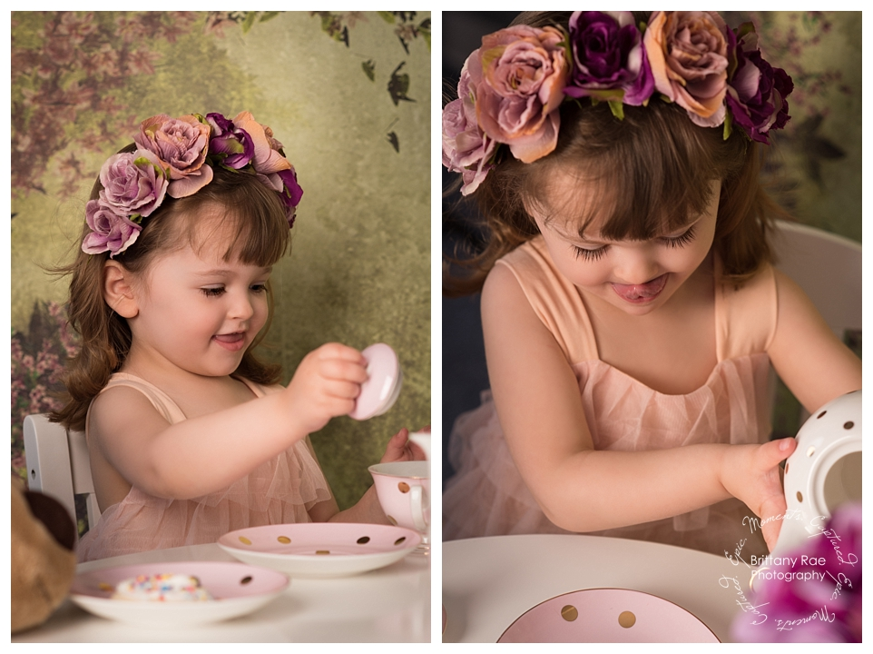 Best Family Portraits by Maine Family Photographers - Tea Party Photographer