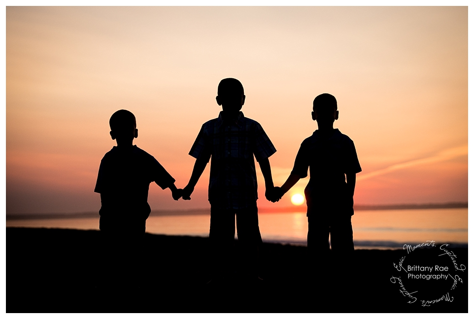 Best Family Portraits by Maine Family Photographers - Sunrise in OOB