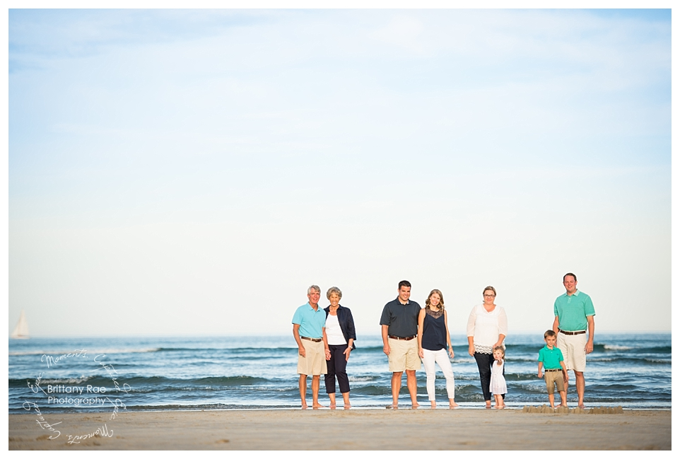 Best Family Portraits by Maine Family Photographers - Ogunquit Beach Family Portraits