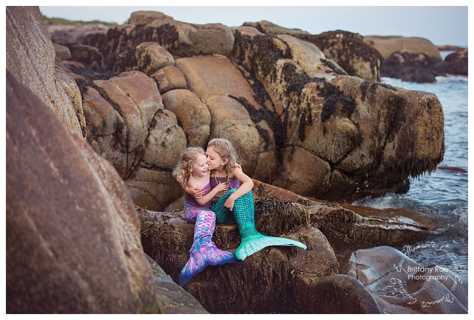 Best Family Portraits by Maine Family Photographers - Mermaids