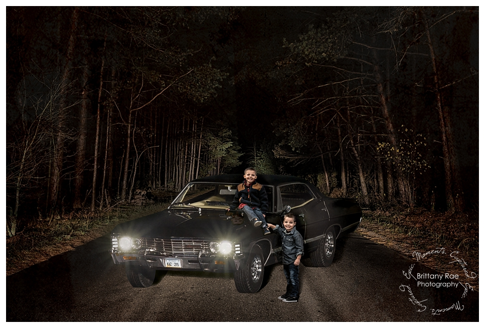Best Family Portraits by Maine Family Photographers - Supernatural inspired photoshoot