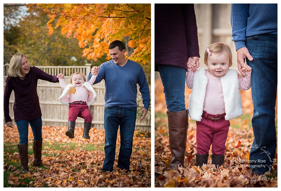 Fall Family Portraits in Pine Point Maine by Maine Family Photographer -