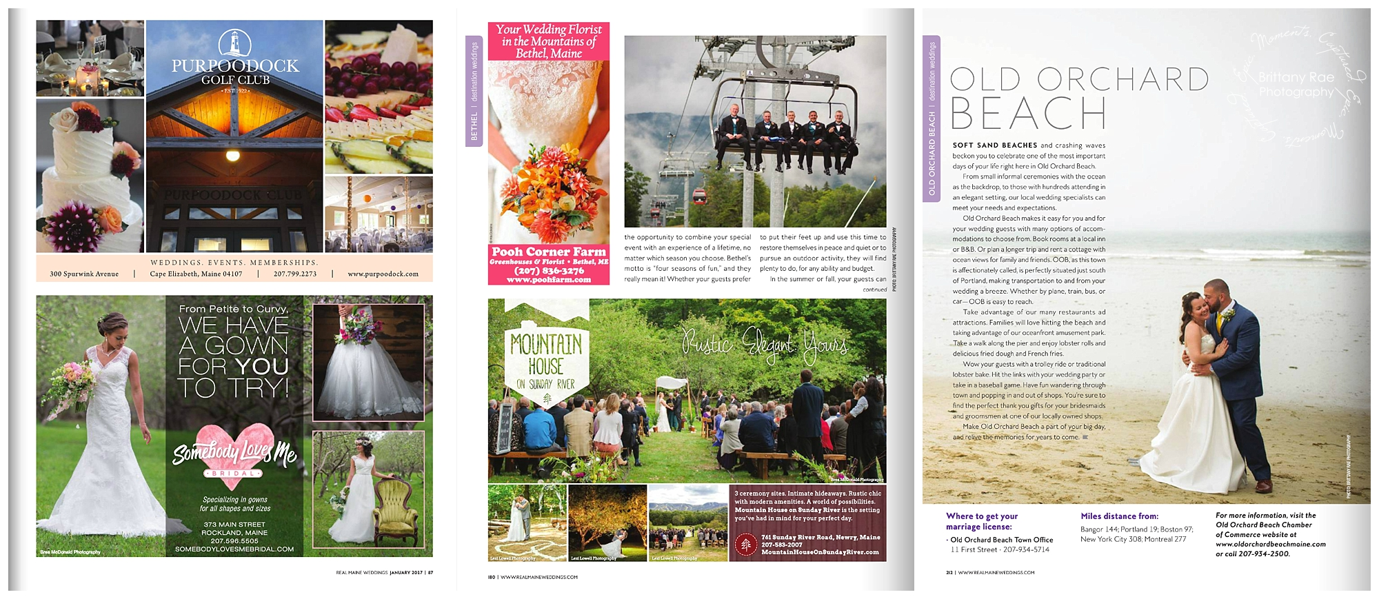 Maine Wedding Photographers Published in Real Maine Weddings Magazine - Grooms on Chairlift at Sunday River Wedding