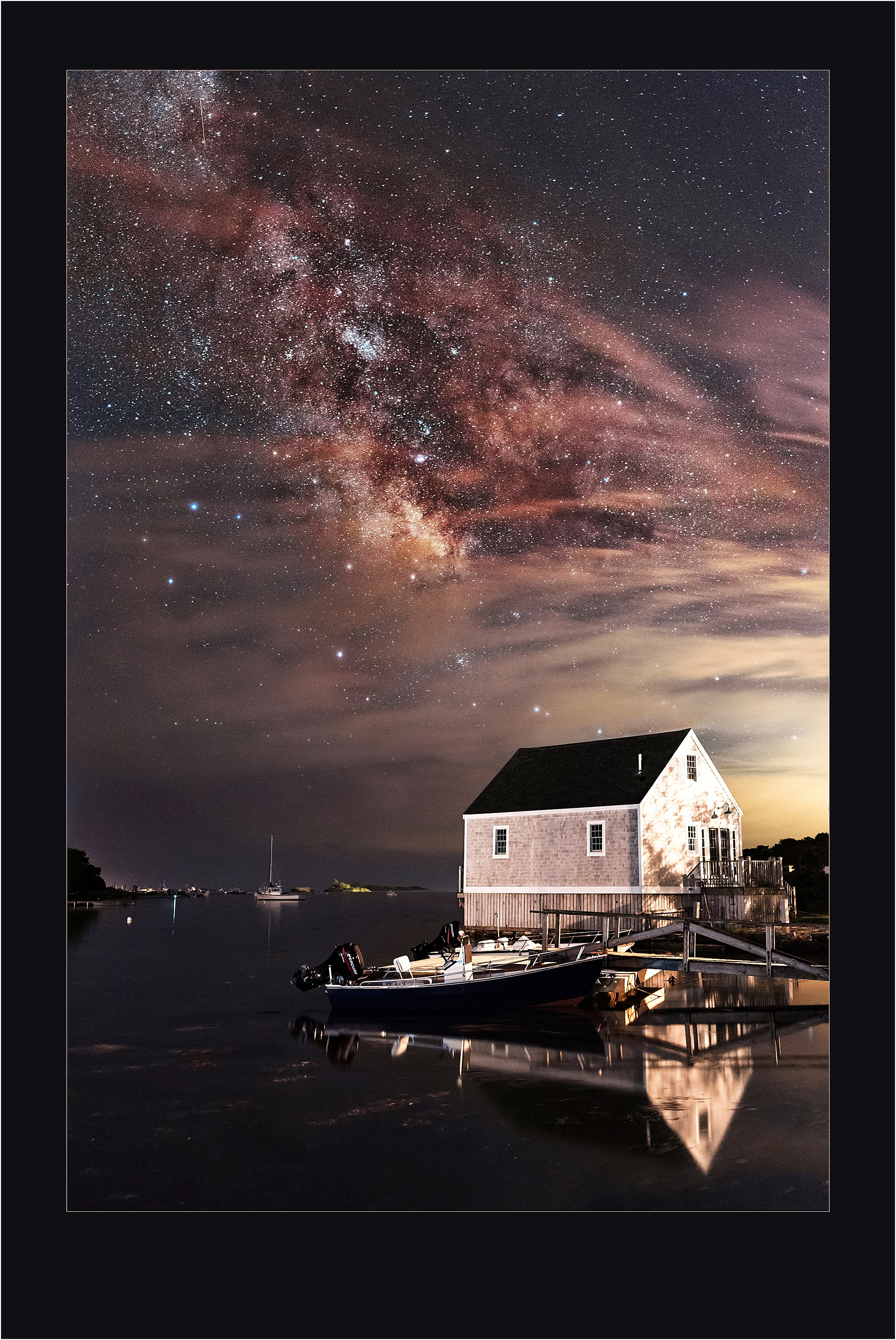 Award Winning Photographers, Maine Astrophotography - Dreaming of the Seas