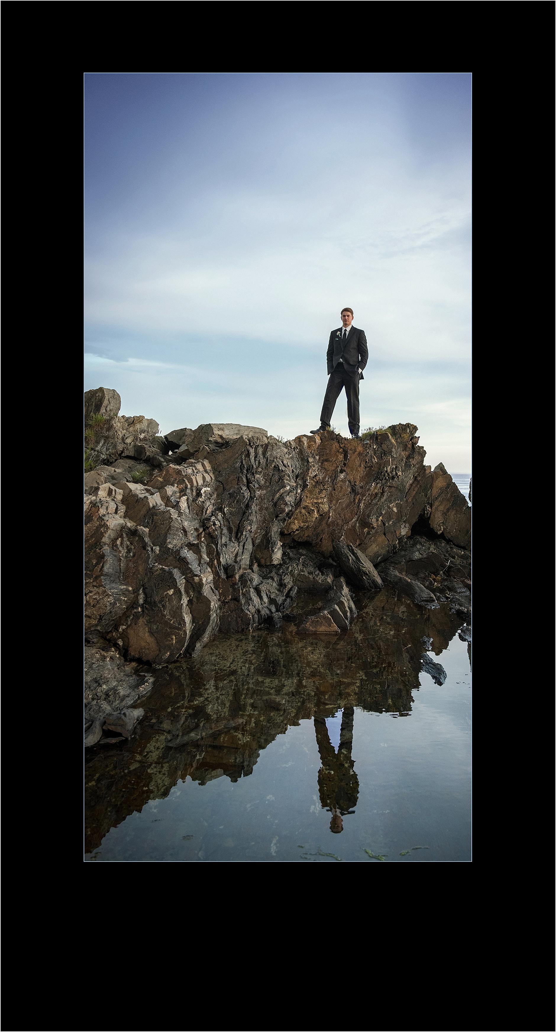 Award Winning Photographers, Maine Wedding Photography - On Top of the World