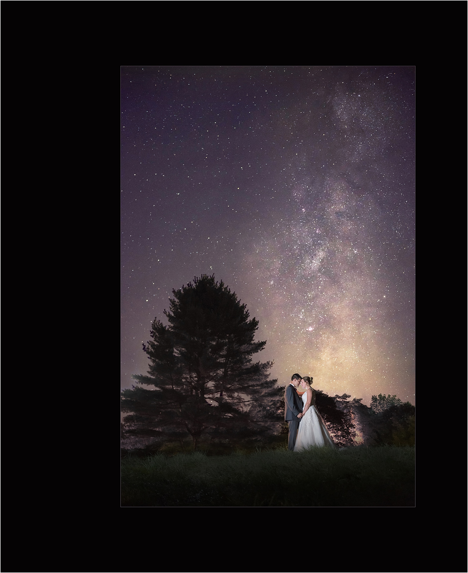Award Winning Photographers, Maine Wedding Photography - Under the Light of a Thousand Stars