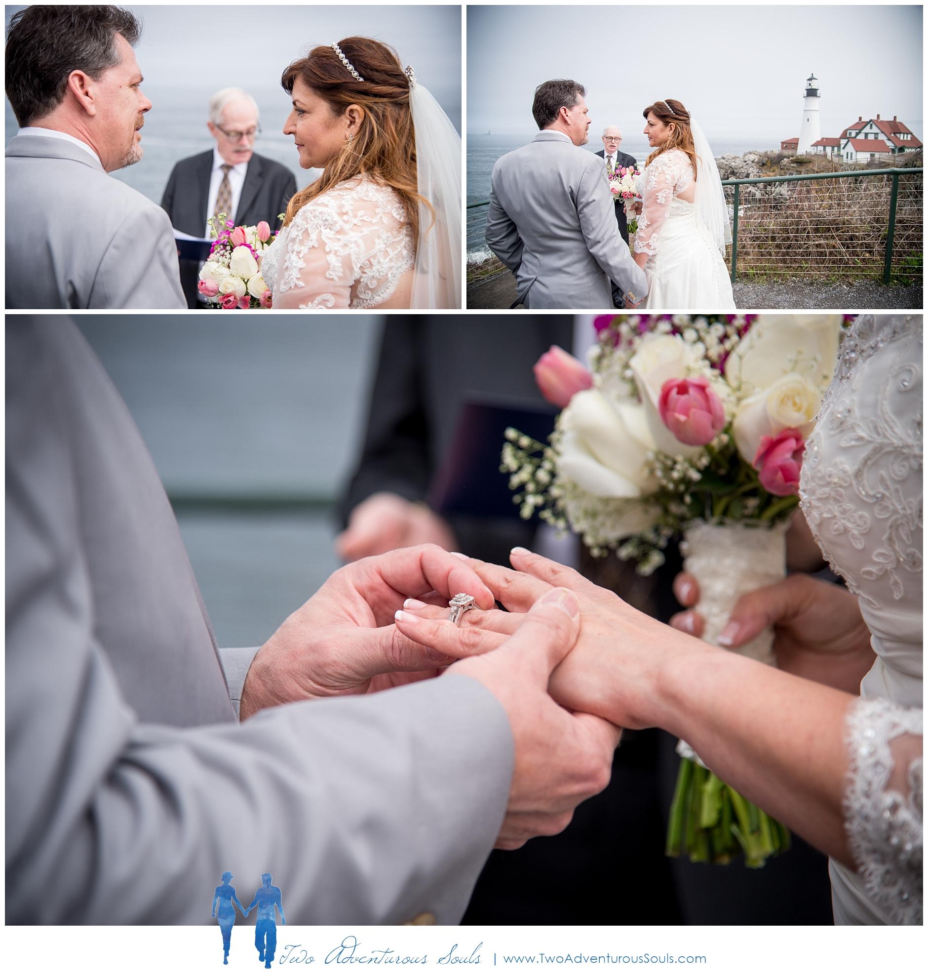 Portland Headlight Wedding, Coastal Maine Wedding by Maine Wedding Photographers, Two Adventurous Souls -