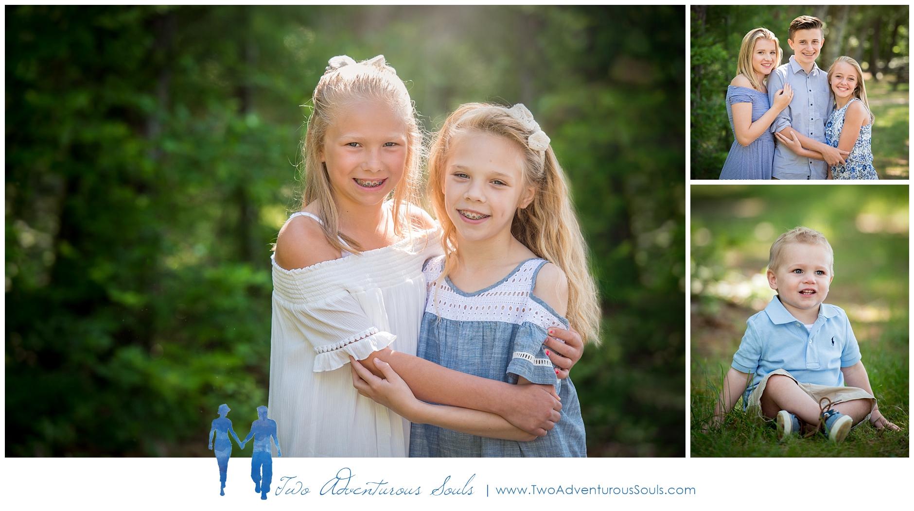 Sebago Lake Family Portraits, Sebago Maine Photographer - Childrens Portraiture