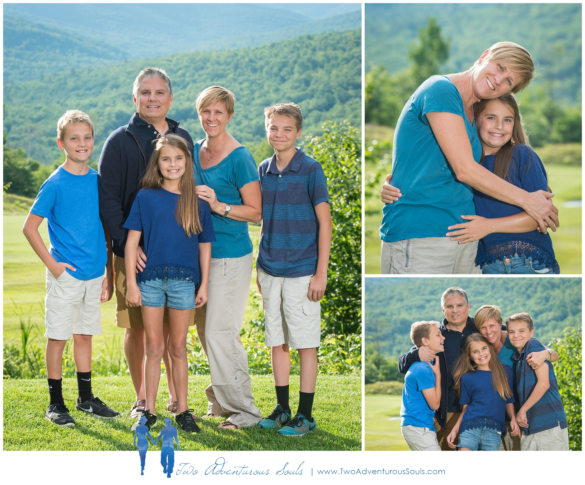 Sunday River Family Portraits in Newry Maine - Extended Family Portraits