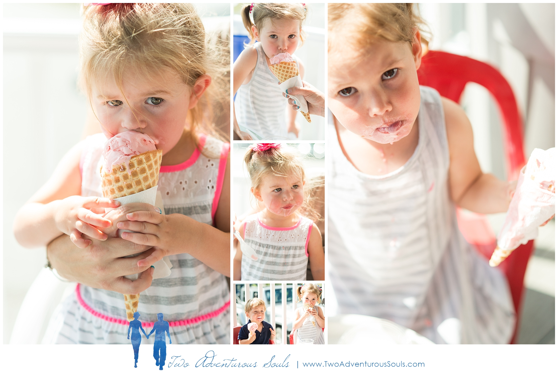 Maine Adoption Photographer, Southern Maine Family Photographer - Martels Ice Cream