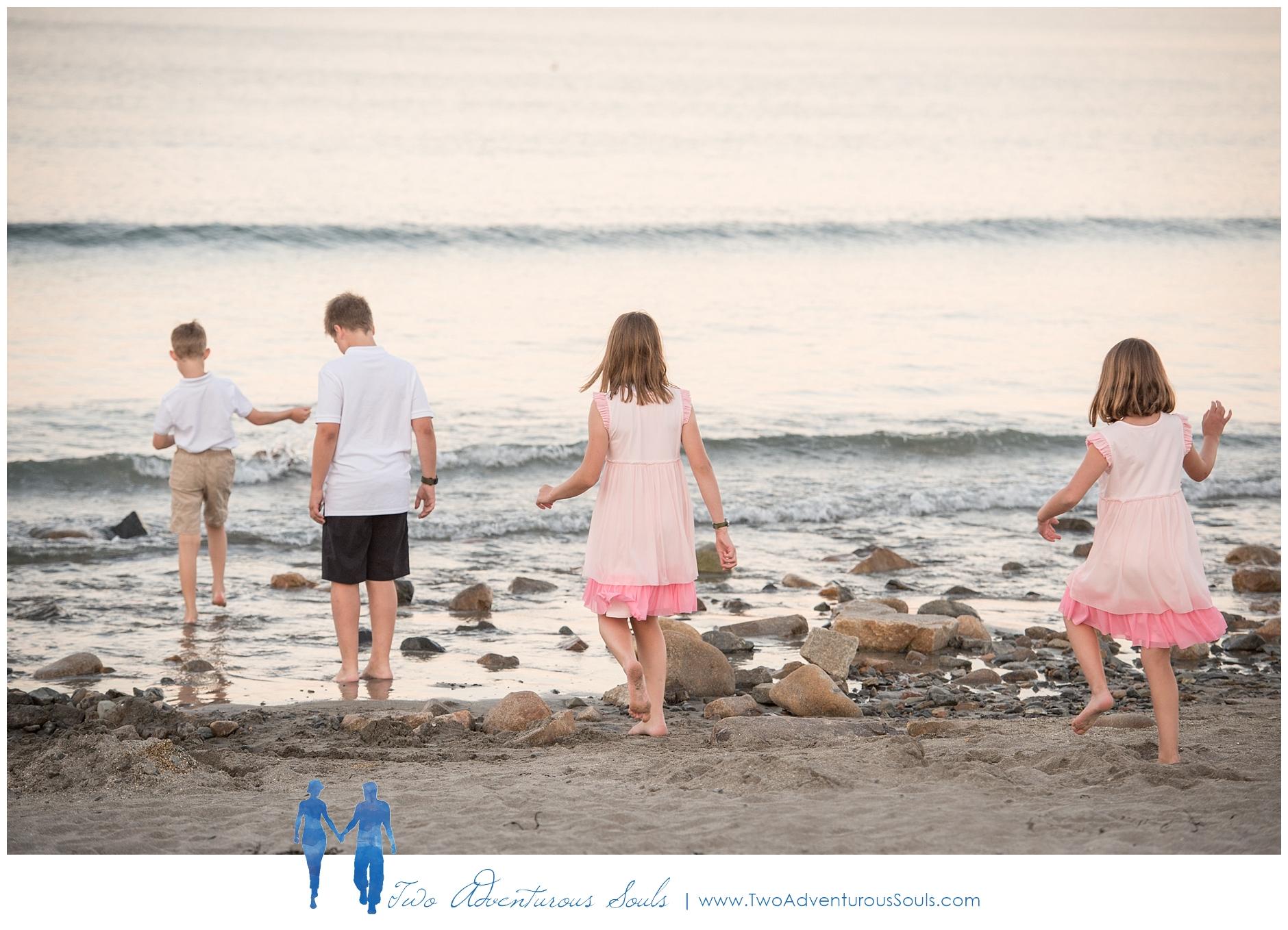 York Beach Family Portraits, York Photographer -