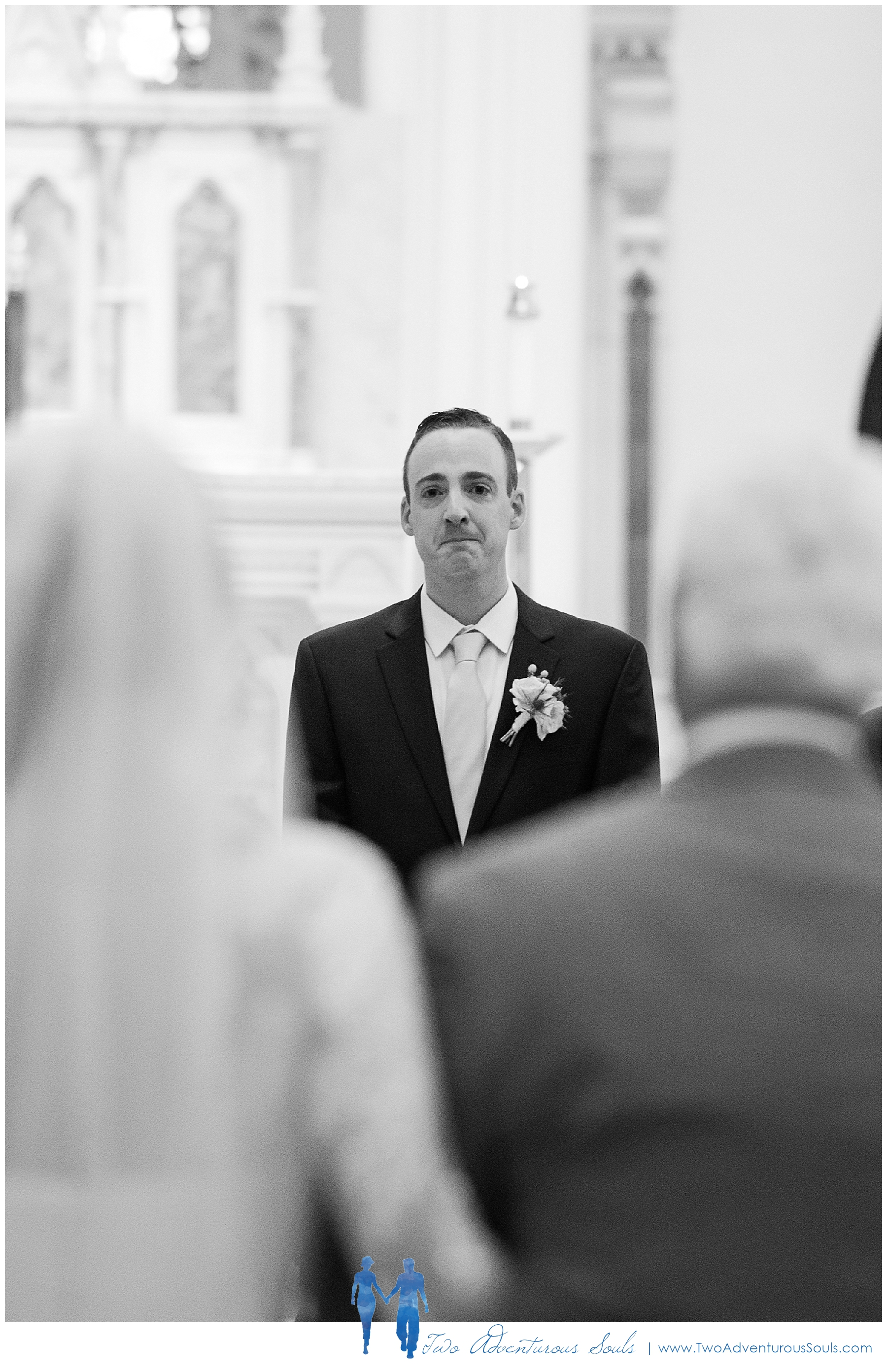 Woodlands Country Club Wedding, Maine Wedding Photographers_Groom Crying