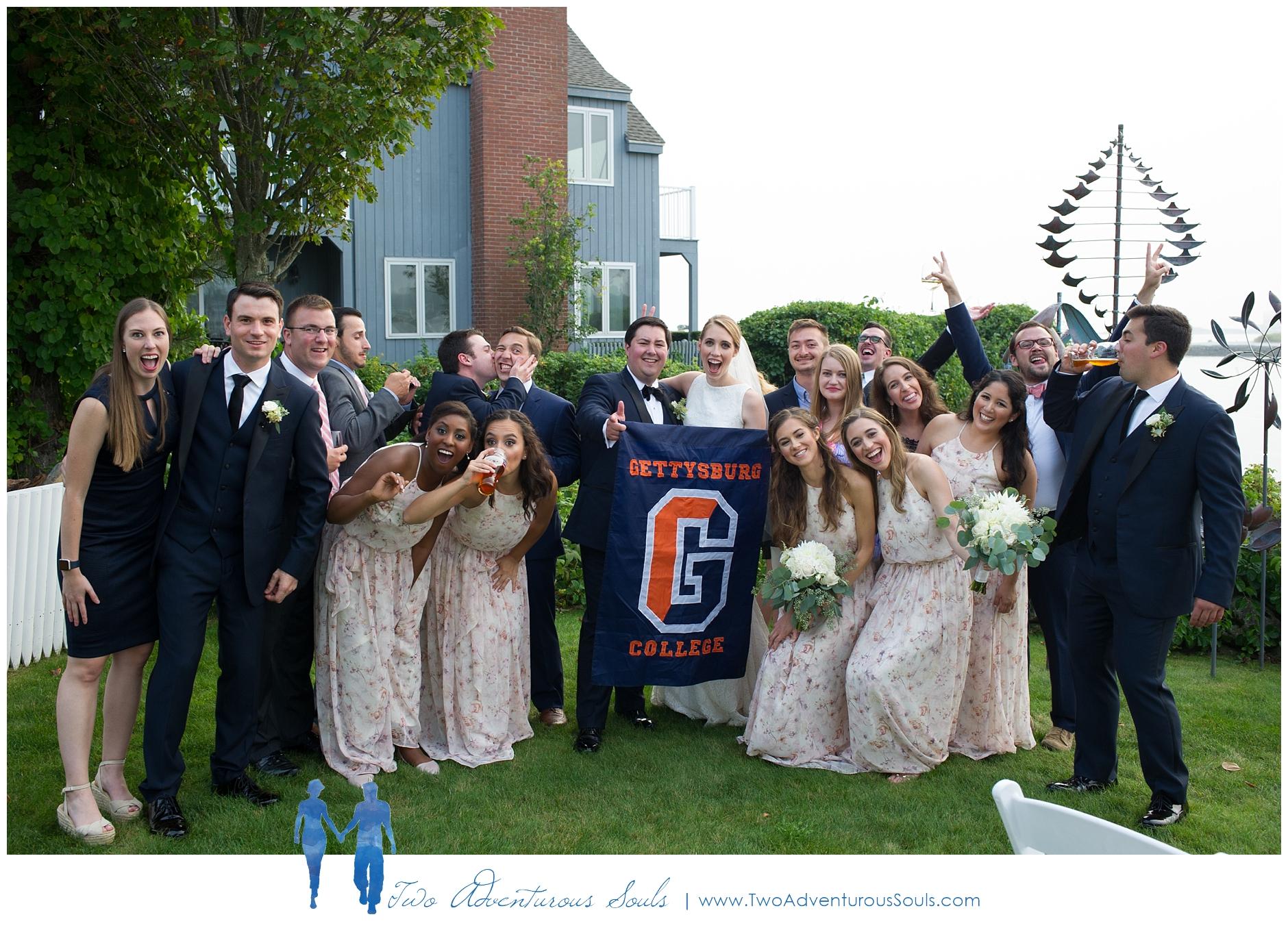 Breakwater Inn and Spa Wedding, Kennebunkport Wedding, Maine Wedding - Gettysburg College Wedding