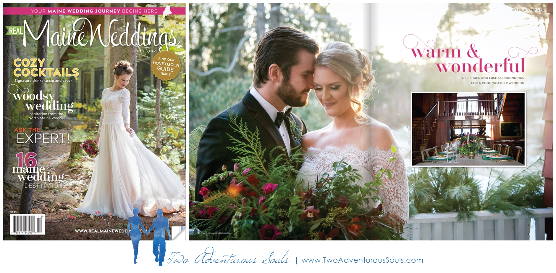 Real Maine Weddings Magazine, Maine Wedding Photographers - 1