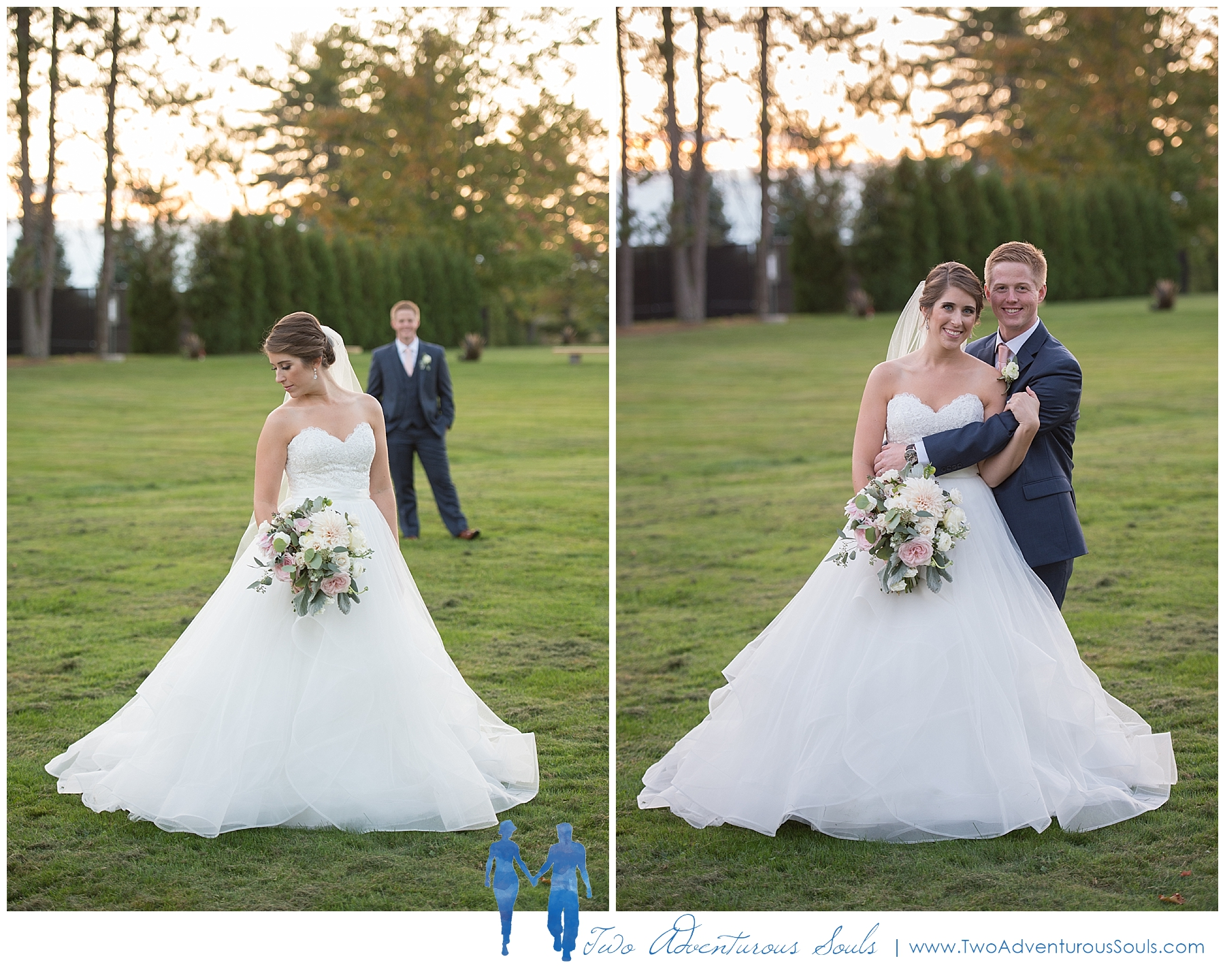 Pineland Farms Wedding, New Gloucester Maine.-
