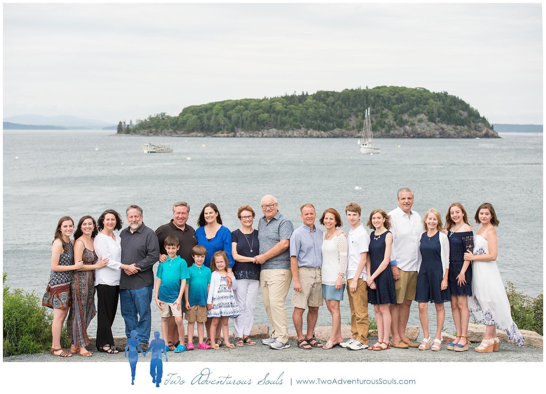 Bar Harbor Family Portraits, Bar Harbor Maine -