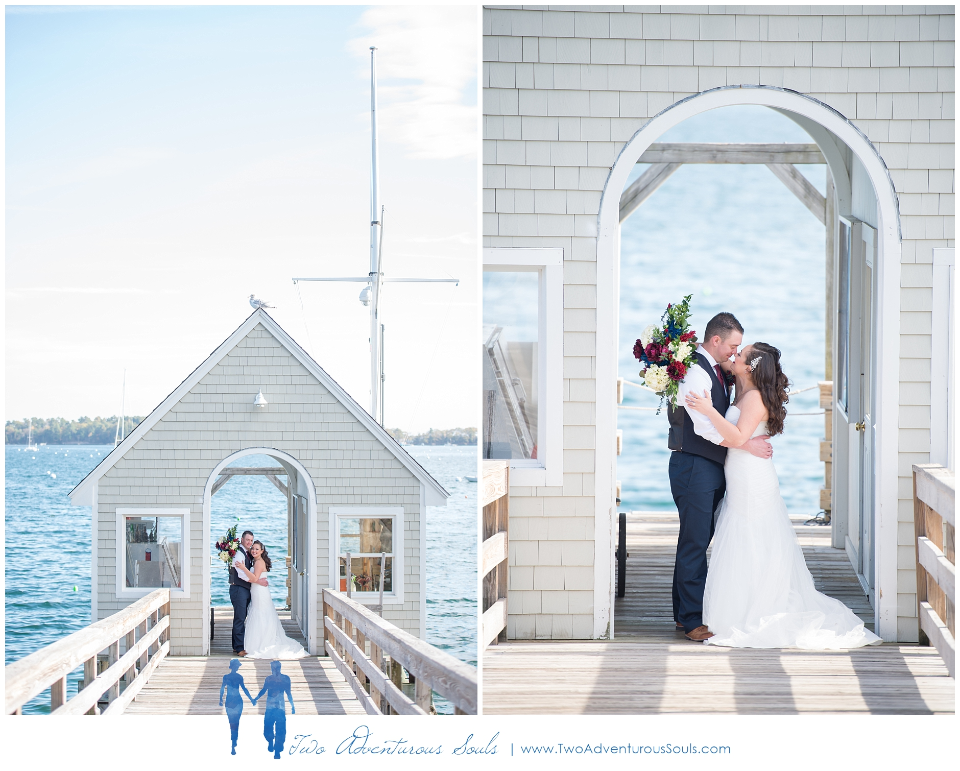 Portland Yacht Club Wedding, Portland Maine -
