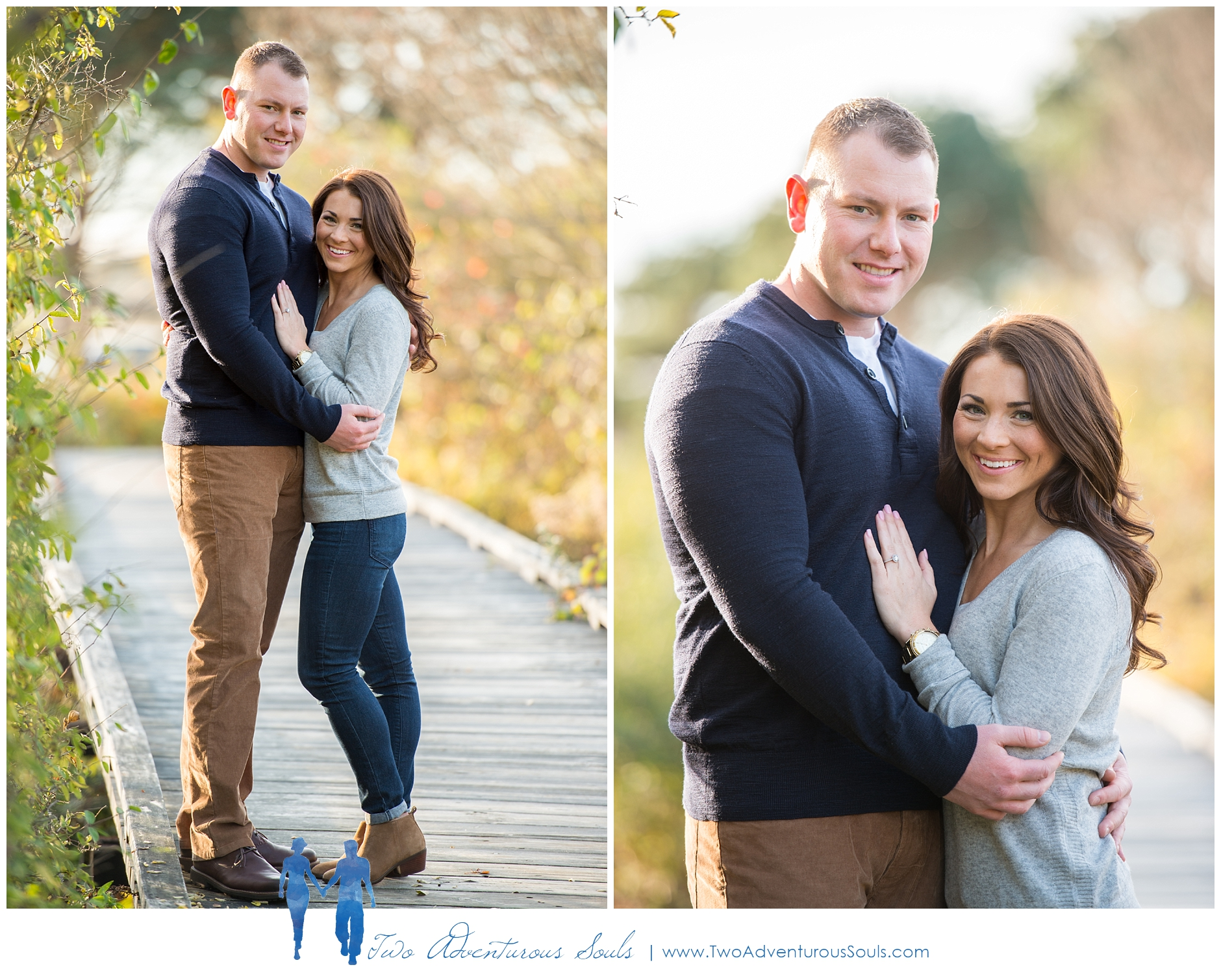 Kettle Cove Engagement Session, Cape Elizabeth, Maine Wedding Photographers -