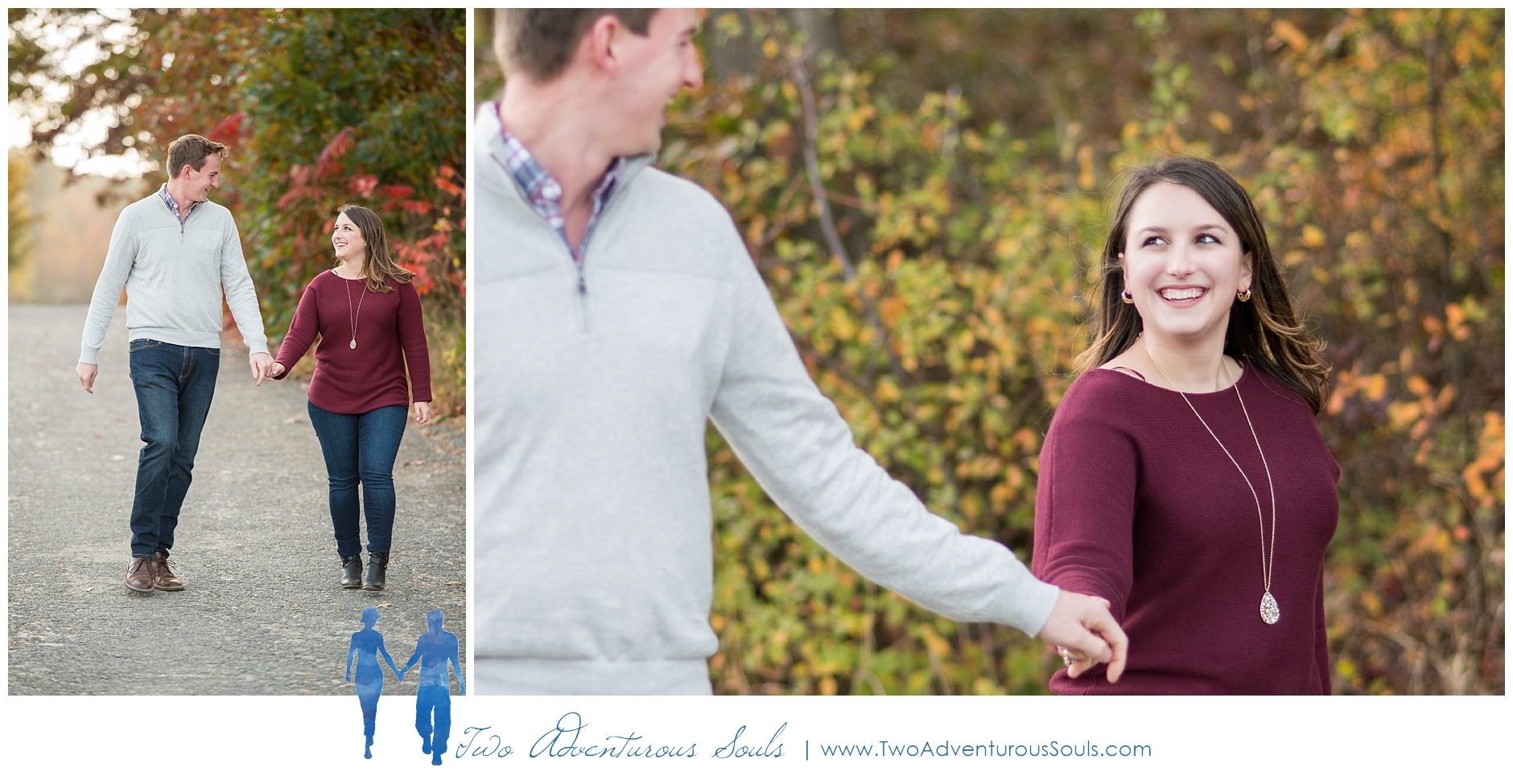 Portland Headlight Engagement Session, Maine Wedding Photographers -