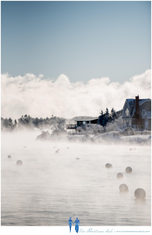 Sea Smoke, Maine Fine Art Photographer -