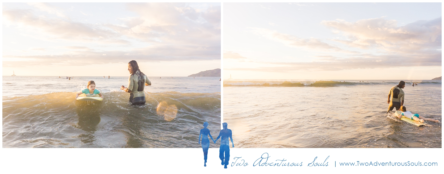 Costa Rica Wedding Photographers on Vacation in Tamarindo Costa Rica - Surf Lessons in Costa Rica