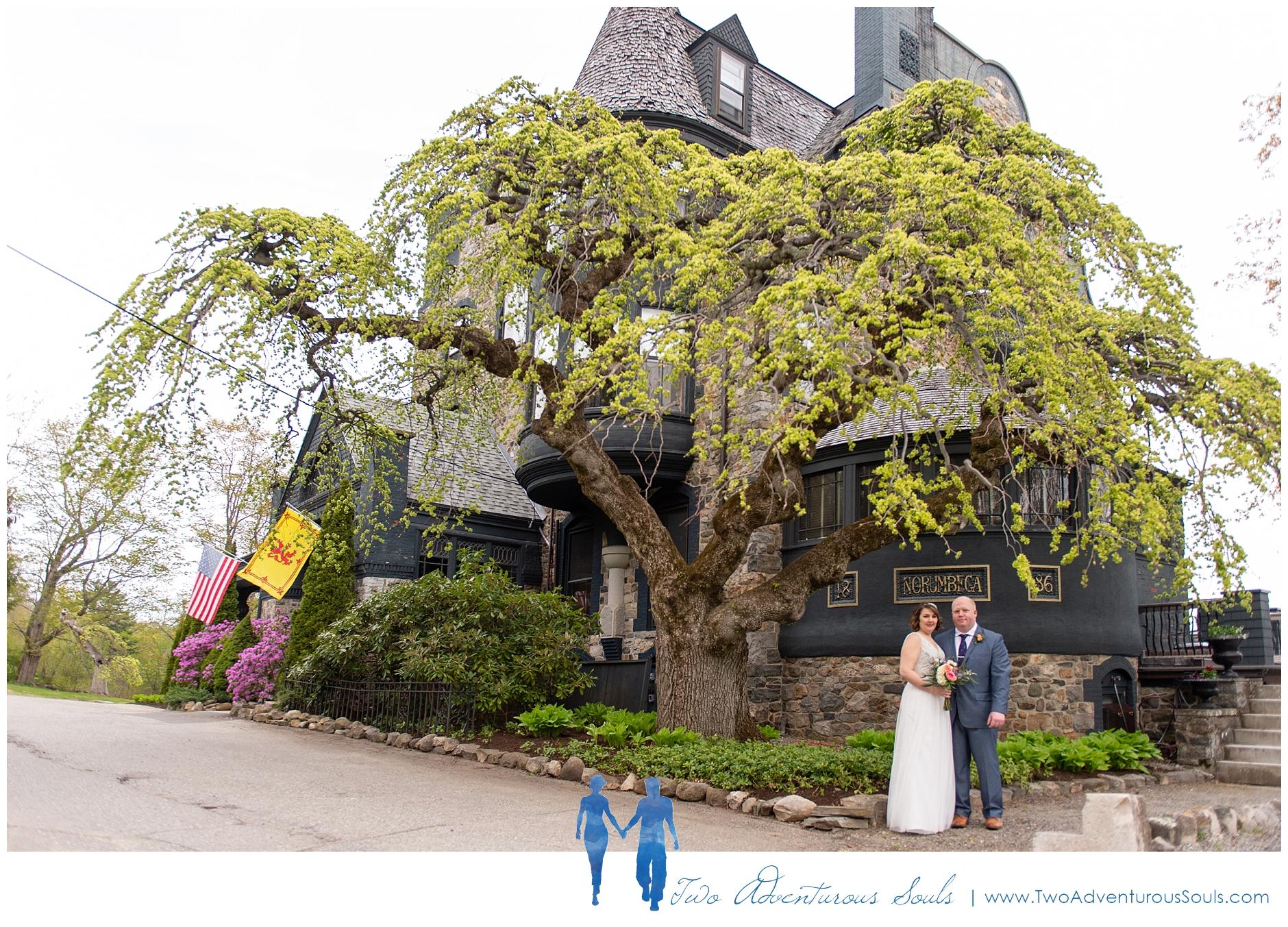 Norumbega Inn Wedding by Maine Wedding Photographers - Camden Wedding - 15