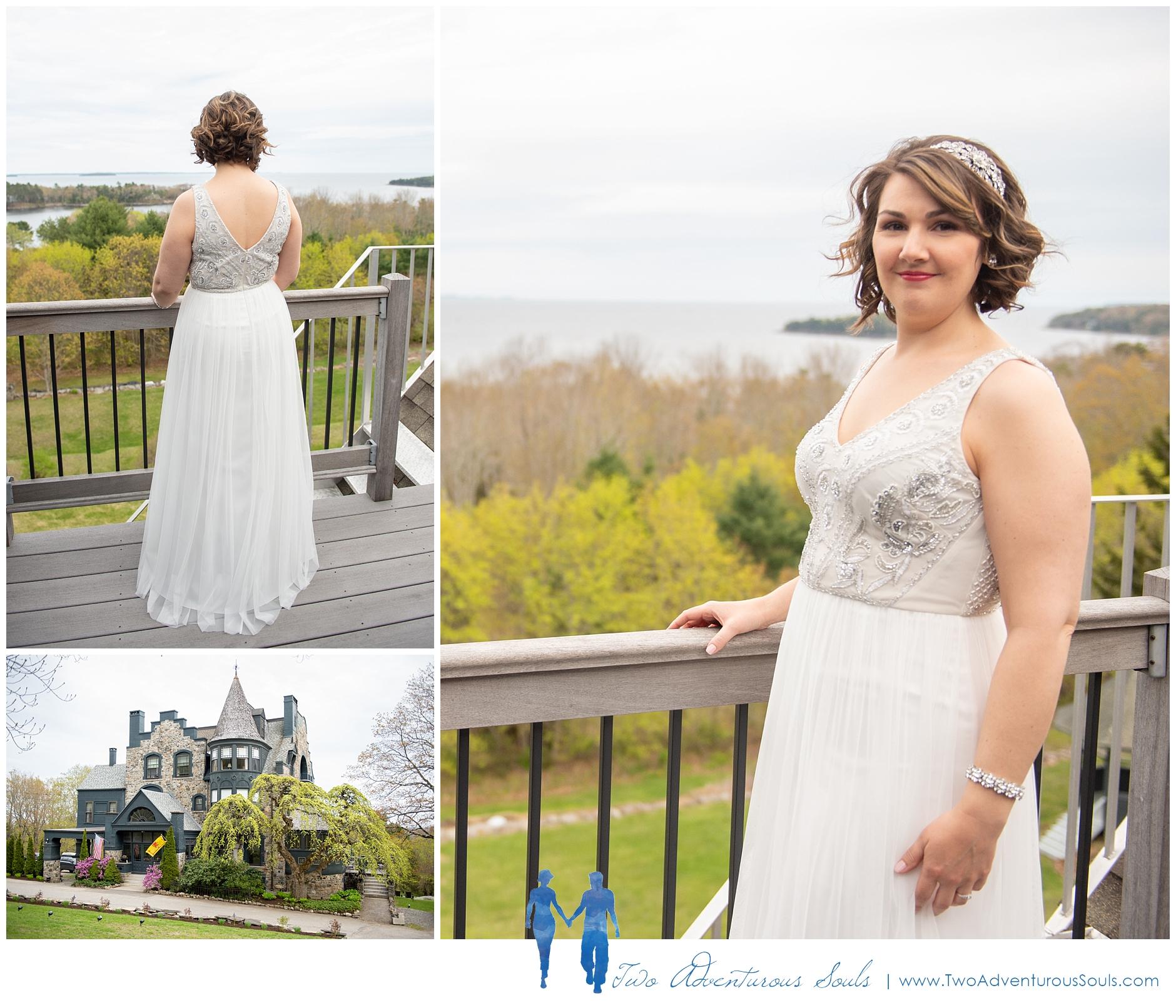 Norumbega Inn Wedding by Maine Wedding Photographers - Camden Wedding - 1