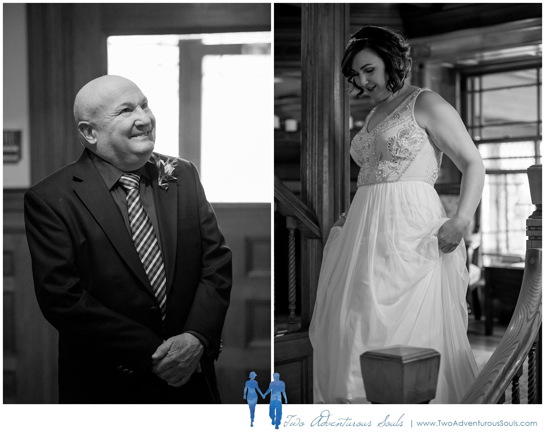 Norumbega Inn Wedding by Maine Wedding Photographers - Camden Wedding - 2