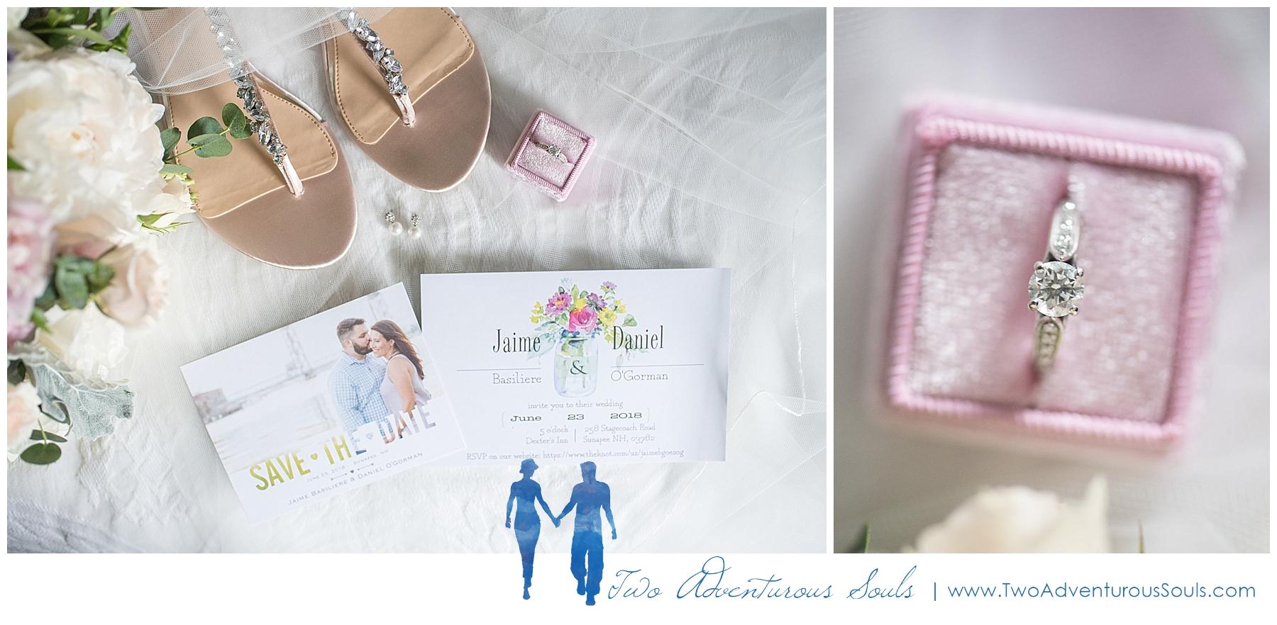 Dexter's Inn Wedding, New Hampshire Wedding Photographers_Country Wedding Details