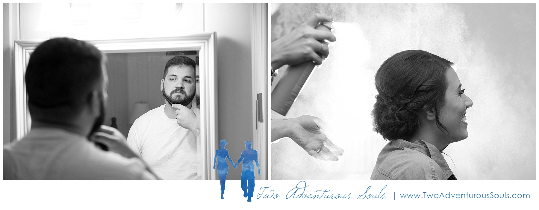 Dexter's Inn Wedding, New Hampshire Wedding Photographers_Bride and Groom getting ready