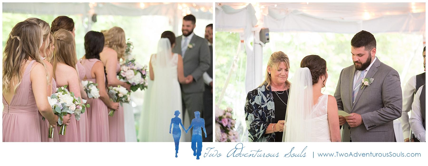 Dexter's Inn Wedding, New Hampshire Wedding Photographers_Tented Wedding Ceremony