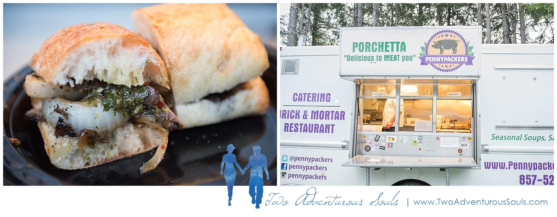 Dexter's Inn Wedding, New Hampshire Wedding Photographers_Food Truck Wedding