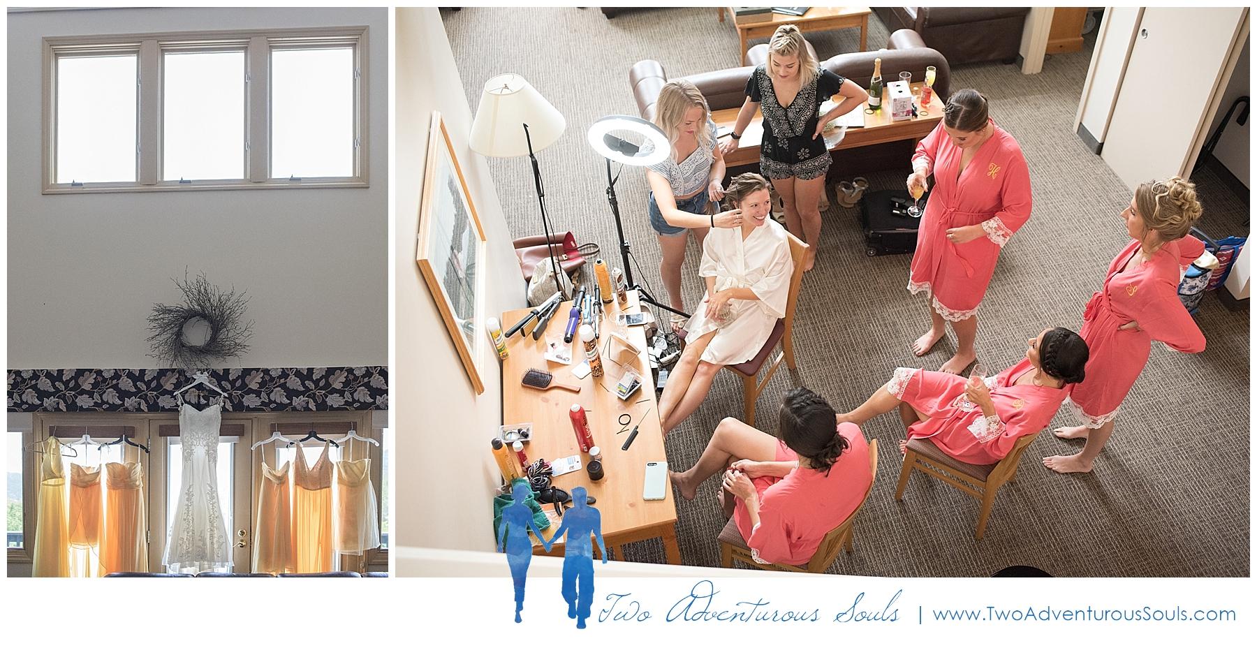 Sunday River Wedding, Maine Wedding Photographers - Getting Ready in Jordan Hotel