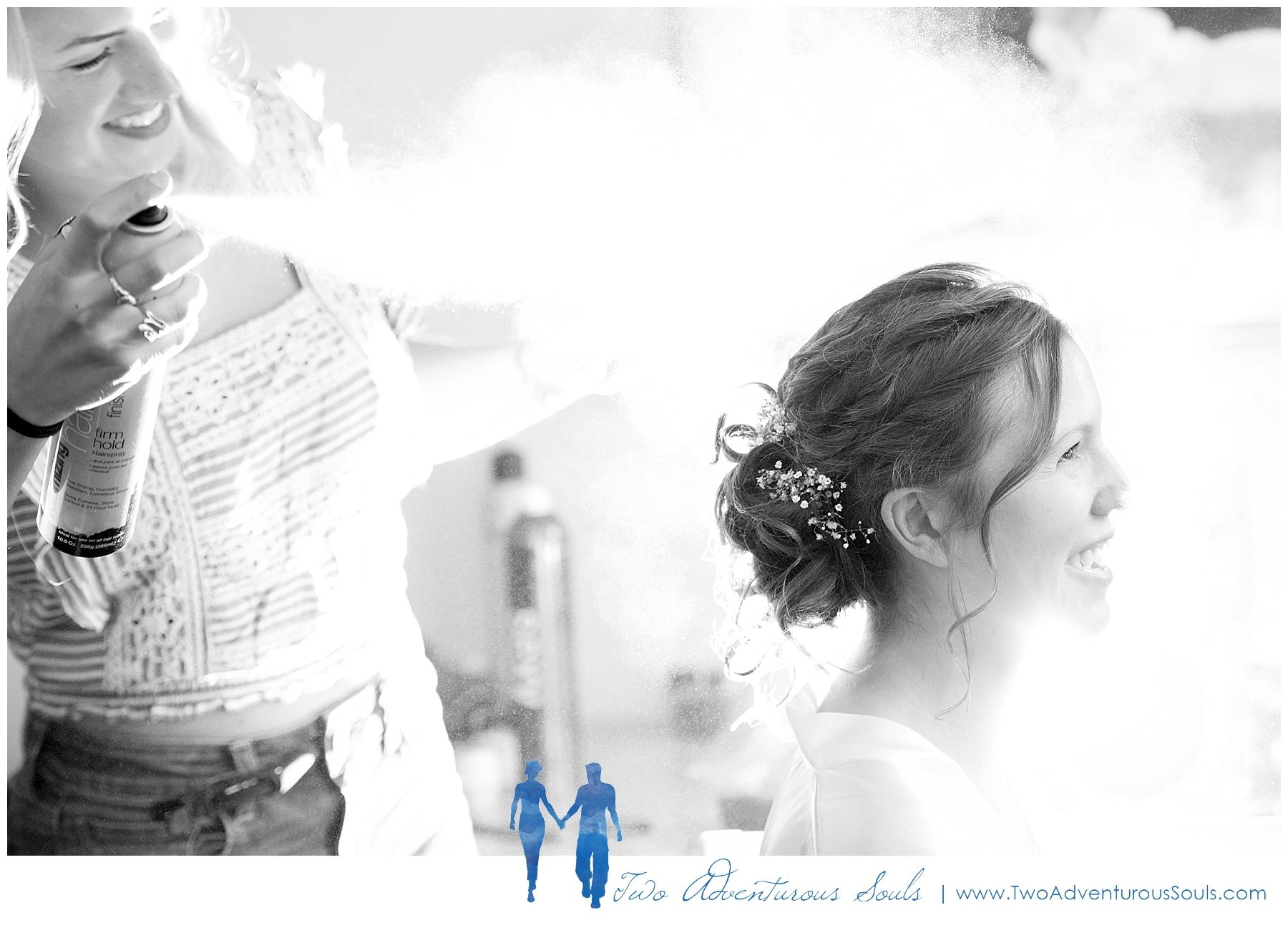 Sunday River Wedding, Maine Wedding Photographers - Bridal Hair